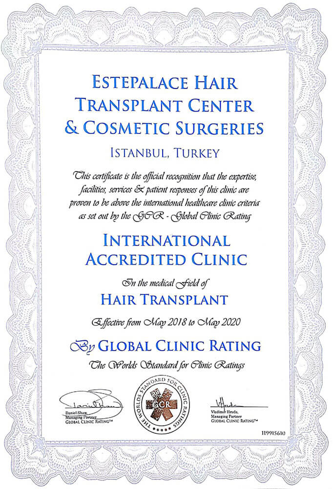 GCR-certificate